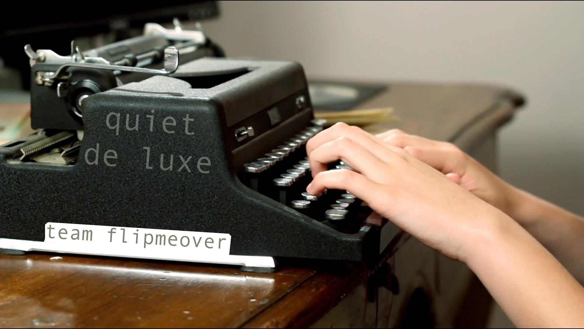 Experiencing the 48 Hour Film Project – 2012 NYC – team flipmeover's quiet de luxe