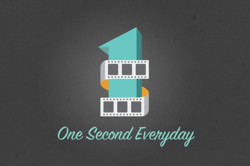 First One Second Everyday App Video