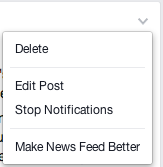 facebook newsfeed help improve
