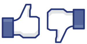 facebook like dislike button